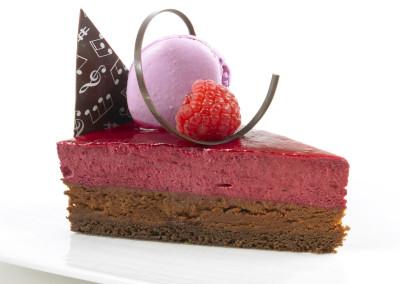 Solbær- og sjokolademousse