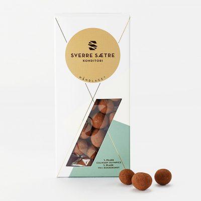 Kakaodrasjerte hasselnøtter