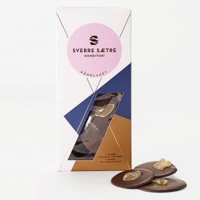 Sjokoladeplett med ingefær