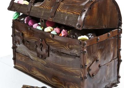Skattkiste i sjokolade